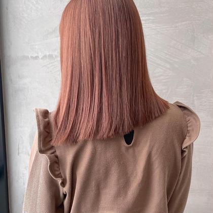 圧倒的ツヤ感🌈透明感イルミナカラー+髪質改善TOKIO トリートメント+コテ巻きスタイリング