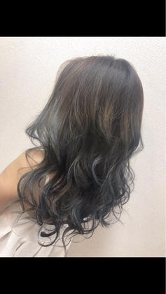 hair color アッシュ 美容室HEART所属・齊藤しおりのスタイル