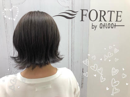 透明感のあるヘアカラー FORTE城北店所属・🍀こばやしゆうか🍀のスタイル