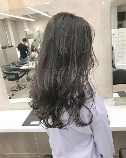 カラー キッズ セミロング ネイル ヘアアレンジ メンズ ダークグレージュ★