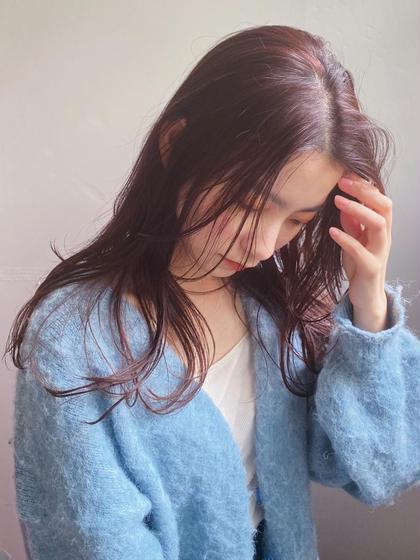 💞人気No1🌼似合わせカット+透明感カラー+1stepAujuaトリートメント💞