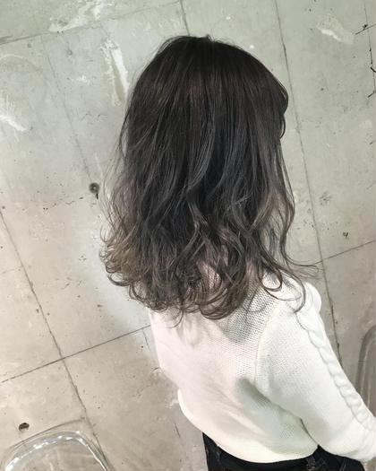カラー セミロング グラデーションカラー★