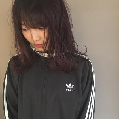 カラー ミディアム チェリーカラー❤️ 3500~