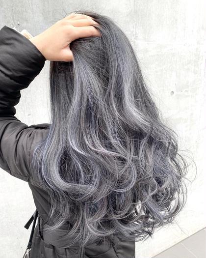 〔効果抜群!サラサラ髪質改善メニュー!!〕 カラー&5stepトリートメント (ホームケアTr付き)