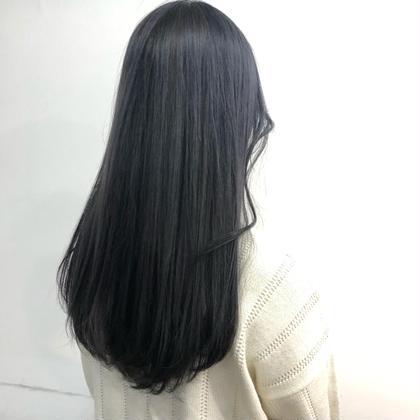 カット & 縮毛矯正 & カラー & 内部補修トリートメント