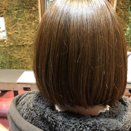 内に入るようなボブです hair's beau aRc所属・井上奈々美のスタイル