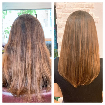 ノンストレスなストレートヘアに❗️髪質改善✨縮毛矯正✨
