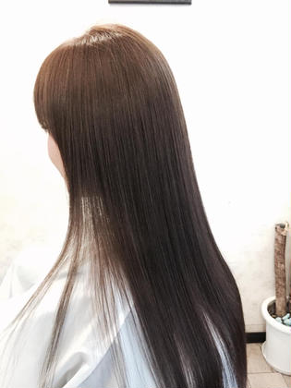 カラートリートメントでサラツヤ髪! vira   hair所属・大石ゆかのスタイル