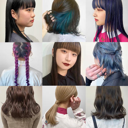 [🕊パーソナルカラー診断付き 🕊]透明感カラー + 極潤トリートメント+前髪カット