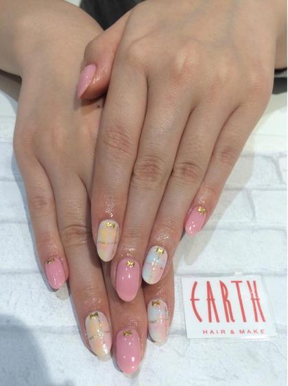 EARTH小平店所属の矢澤直美のネイルデザイン