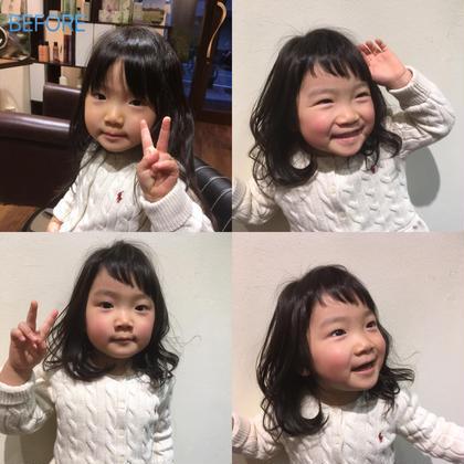 キッズカット!前髪キュート! 松島拓磨のキッズヘアスタイル・髪型