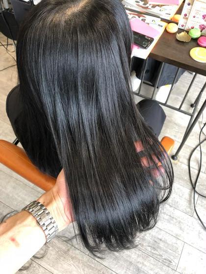 ブルージュカラーで赤みなしの透明感あるカラーにしました(^^) トップスタイリストSegawaのヘアスタイル・ヘアカタログ