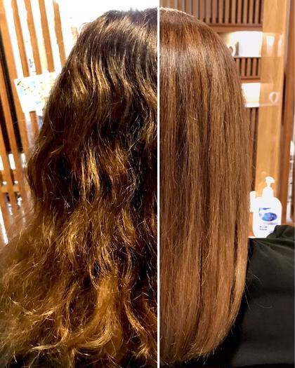 髪質改善酸性ストレート✨クセを諦めてた方🤦♂️ブリーチ毛やビビリ毛、傷んでチョリチョリなんでもこい❗️