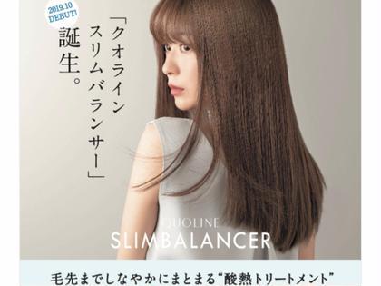 💐最新髪質改善💐酸熱トリートメント スリムバランサー