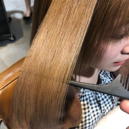 [テレビで話題沸騰!!]髪質改善酸熱トリートメント(ブロー込み)