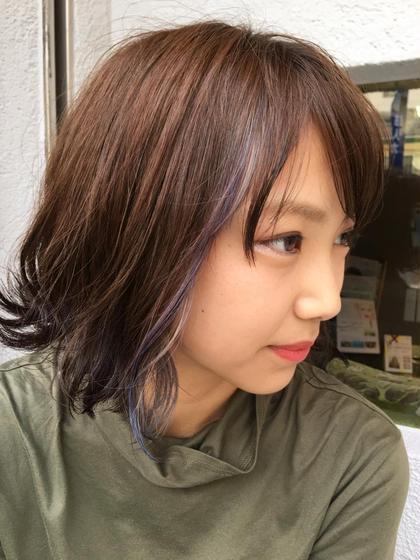 【ミニモ夏きゅん】特別価格!カット & ヘアカラー & トリートメント