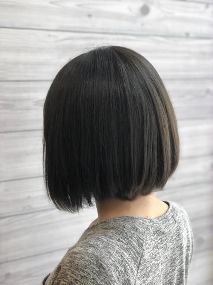 ✨ご新規様限定✨カット×ナノスチーム付き水縮毛矯正
