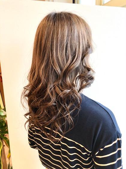艶髪水カラー「前処理デトックス・トリートメント付き」
