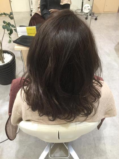アッシュブラックにしてみました! agu hair living所属・近藤充のスタイル