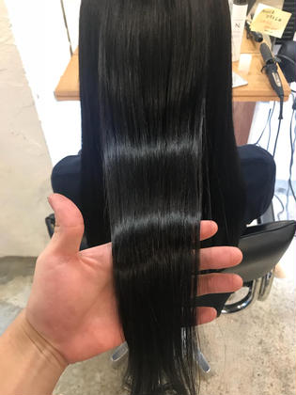 《✨髪質改善✨》オーダーメイドストレート+プチトリートメント