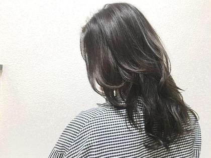 ダークグレージュ✨ Hair Make Ash所属・大山晃介のスタイル