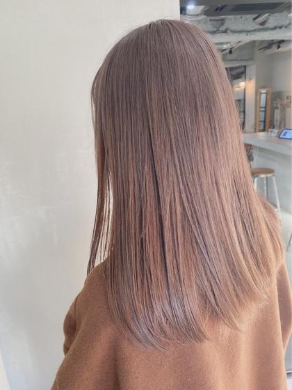 【人気No.1💓】メンテナンスカット+イルミナカラー+髪質改善トリートメント💓✨