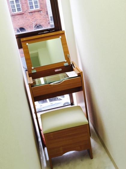 隠れが的なお化粧室です‼︎コテもご用意しております‼︎ sourire/スリール所属・kimyukoのフォト