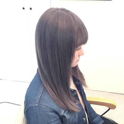 ピンクグレージュ Hair   ALES所属・新井朋典のスタイル