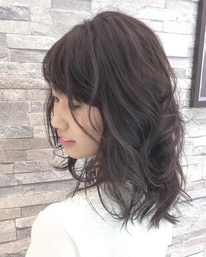 透き通るようなカラーはオーガニックカラーで決まり✨ hair & make earth天童店所属・渡部等のスタイル