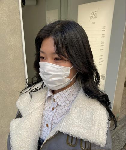 学割U24❕透明感暗髪カラー+トリートメント♡