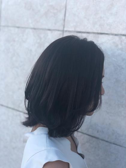 外ハネボブ progress成田店所属・蒼井悠子のスタイル