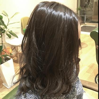 ダブルカラー後の色が抜けた髪をワンカラーで染めました CREA  totalbeauty所属・CREAクレアのスタイル