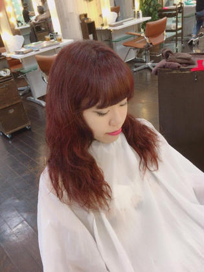 柔らかい濃いめピンク ルシェリア所属・kawabenobuakiのスタイル