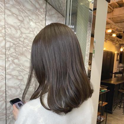 🥈オススメ🥈【似合わせカット】+【髪質改善酸熱トリートメント】