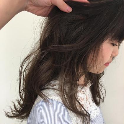 🔶透明感カラー➕前髪カット 【6月末まで限定メニュー】
