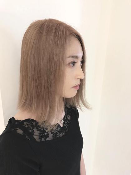 ミルクティーベージュ キラーナサリ所属・高橋輝行のスタイル
