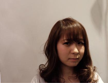 カラー後に撮影もさせていただきました。 broche所属・佐藤洋平のスタイル