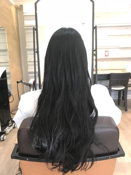 🐨 【 就活生応援📣 】  黒染めカラー + トリートメント ✨