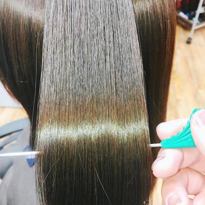 【髪質改善】高濃度美容液トリートメント
