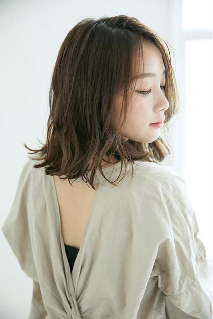 🌟【人気No.1】オーガニックカラー+小顔カット+似合わせ眉メイク+極潤アウトバスTr