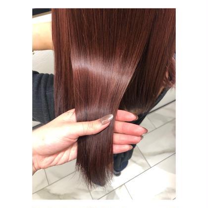 ✨SNSで話題✨髪質改善トリートメント🧡+1100円でメンテナンスカットできます⭕️