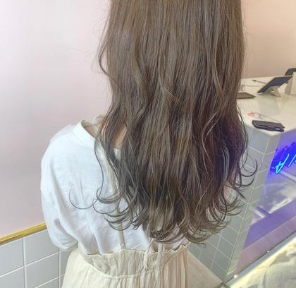 💭♥️透明感たっぷりカラー♥️💭色持ちカラー+艶髪トリートメント🕊