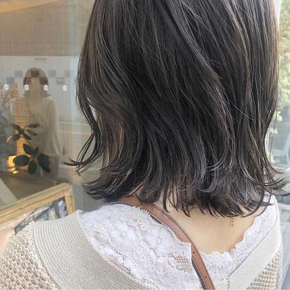 ❤︎人気上昇中💘小顔CUT + 透明感カラー  + 艶感ケアトリートメント🌸
