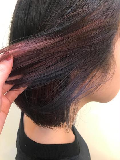 その他 カラー ミディアム pink × violet