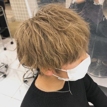 ✨新規限定✨メンズカット+ブリーチ込みカラー  派手髪が好きな方大歓迎です💕炭酸スパ付き】