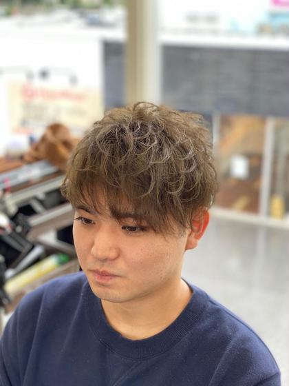 カット+ニュアンスパーマ(シャンプー、セット込み)