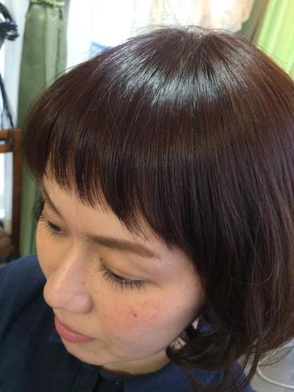 ‼️前髪のクセがスッキリ‼️前髪縮毛&カット&ケアトリートメント