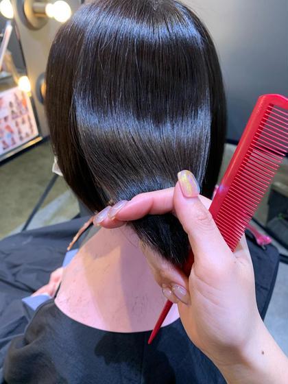 【美髪ケア⭐︎】[毛髪強化]ケラチントリートメント+カット