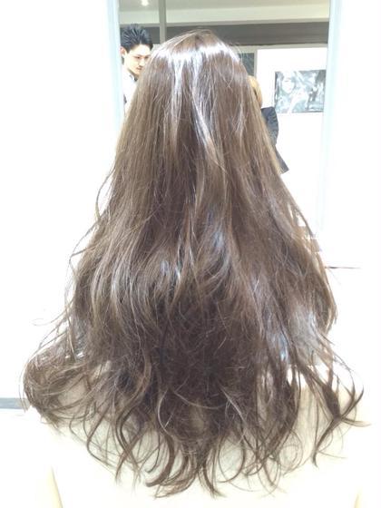 透明感アッシュカラー Lucia hair pluieルチア ヘア プリュイ所属・yoshika☆のスタイル