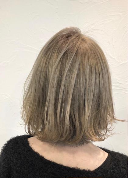 🌼新規限定🌼前髪カット+1ブリーチ+トリートメント